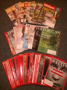 Magazines - TOH, Fortune, Time